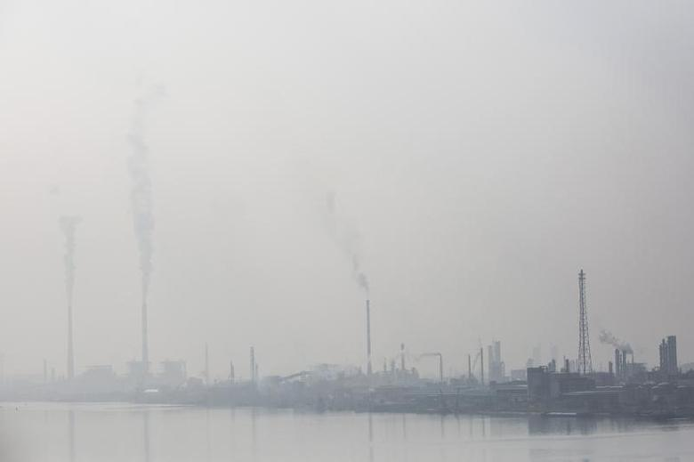 Petrochemical plants are seen in Nanjing, Jiangsu province, February 20, 2014. REUTERS/Aly Song