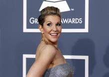 Mezzo soprano Joyce DiDonato poses as she arrives at the 54th annual Grammy Awards in Los Angeles, California, in this February 12, 2012 file photo.  REUTERS/Danny Moloshok/Files