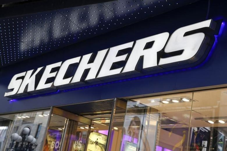 The outside of a Skechers shoe store is seen at Times Square in New York May 2, 2014. REUTERS/Shannon Stapleton