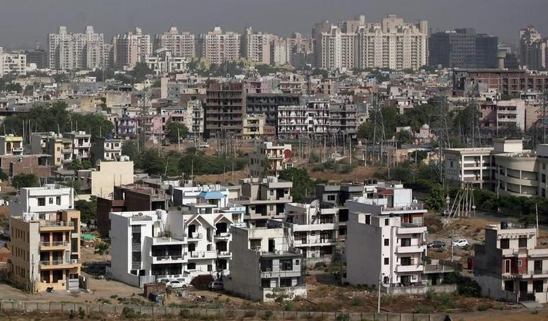A general view of the residential apartments is pictured at Gurgaon, on the outskirts of New Delhi June 19, 2012. REUTERS/Parivartan Sharma/Files