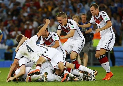 Joy for Germany