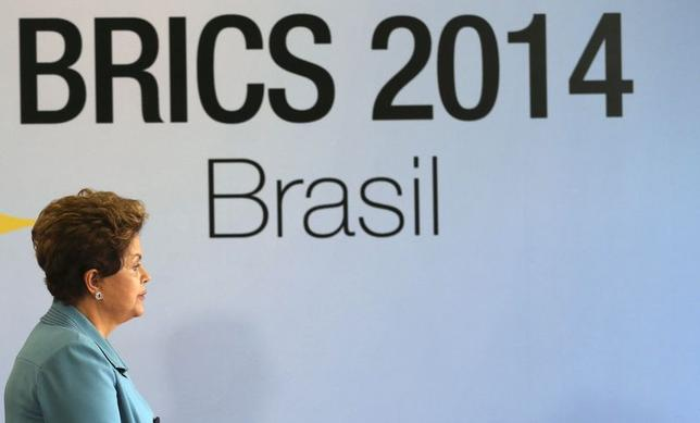 Brazil's President Dilma Rousseff is pictured before the 6th BRICS summit in Fortaleza July 15, 2014.  REUTERS/Nacho Doce