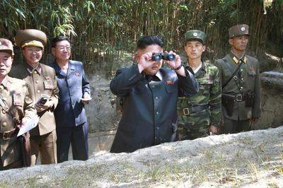 Live fire with Kim Jong Un