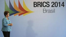Brazil's President Dilma Rousseff looks on before the 6th BRICS summit in Fortaleza July 15, 2014.  REUTERS/Nacho Doce