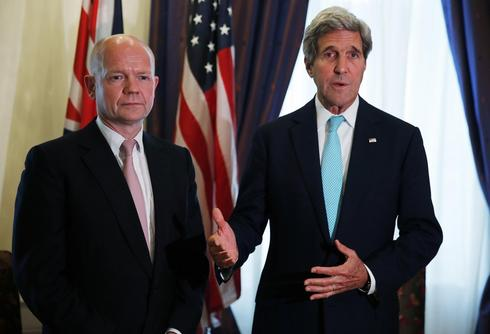 Kerry confers premature knighthood on departing friend Hague