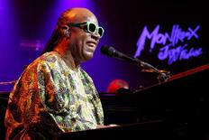 U.S. singer Stevie Wonder performs during the Montreux Jazz Festival in Montreux July 16, 2014. REUTERS/Pierre Albouy