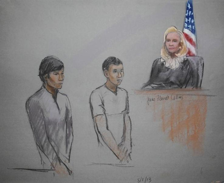Jury ends second day of deliberations in trial of accused Boston bomber's friend