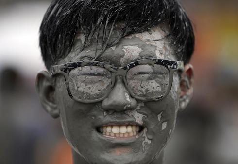 Mud festival in Korea