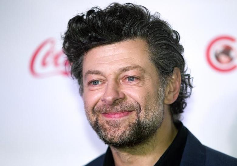 Actor Andy Serkis, winner of the CinemaCon Vanguard Award, arrives for the Big Screen Achievement Awards during CinemaCon, the official convention of the National Association of Theatre Owners, at Caesars Palace in Las Vegas, Nevada March 27, 2014.  REUTERS/Steve Marcus