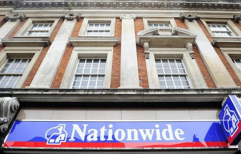 A general view of a Nationwide building society branch in London, May 27, 2009.  REUTERS/Toby Melville