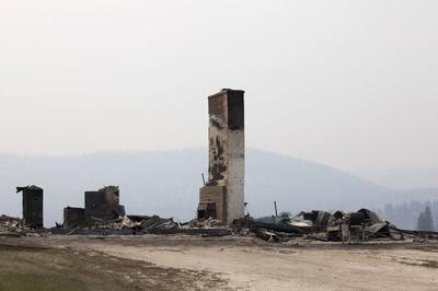 Washington state wildfire claims first fatality,...