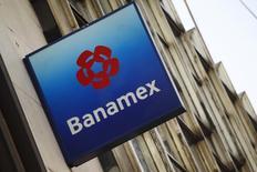 Imagen de archivo de una sucursal de Banamex, la unidad mexicana de Citigroup, en Ciudad de México, feb 28 2014. Los hallazgos preliminares de una investigación de Banamex, la unidad mexicana de Citigroup, sobre cómo perdió más de 500 millones de dólares por un crédito corporativo fraudulento difieren notablemente de los resultados de otra realizada por el regulador bancario de México.  REUTERS/Edgard Garrido