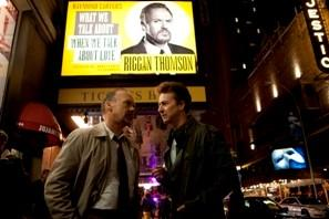 Michael Keaton as 'Riggan' and Edward Norton as 'Mark' in a still from the movie Birdman. REUTERS/Fox Searchlight