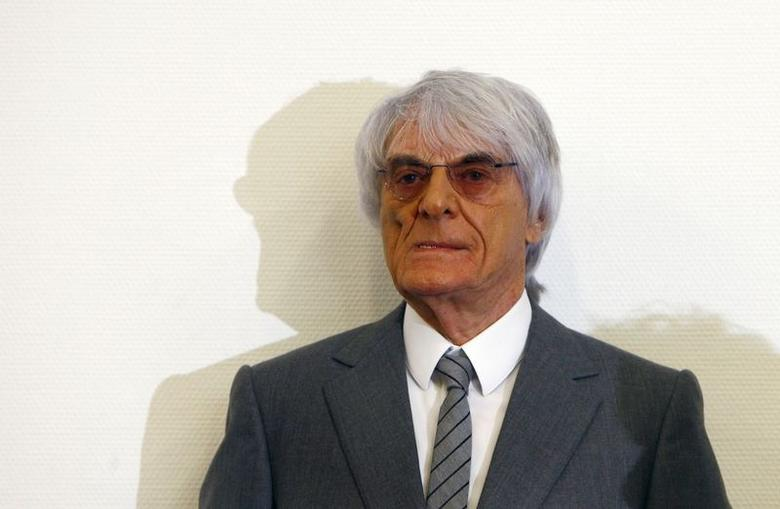 Formula One Chief Executive Bernie Ecclestone arrives in court in Munich July 15, 2014. REUTERS/Michaela Rehle