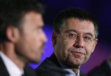Presidente do Barcelona, Josep Maria Bartomeu, em foto de arquivo. 21/05/2014 REUTERS/Albert Gea
