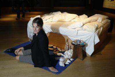 Artist Emin's grotty 'My Bed' to have long-term home...