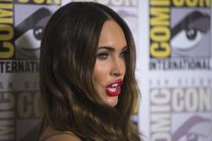 "Atriz Megan Fox, do elenco de ""As Tartarugas Ninja"", em evento em San Diego. 24/07/2014  REUTERS/Mario Anzuoni"