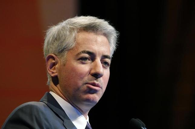 William Ackman, founder and CEO of hedge fund Pershing Square Capital Management, speaks at the Sohn Investment Conference in New York, May 5, 2014.  REUTERS/Eduardo Munoz
