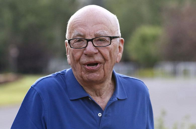 Rupert Murdoch, Twenty-First Century Fox Inc CEO, arrives for the first day of the Allen and Co. media conference in Sun Valley, Idaho July 9, 2014. REUTERS/Rick Wilking