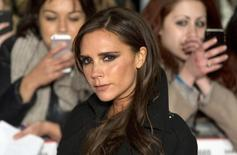 "Former Spice Girls singer Victoria Beckham attends the world premier of the film ""The Class of 92"" in London December 1, 2013. REUTERS/Neil Hall"