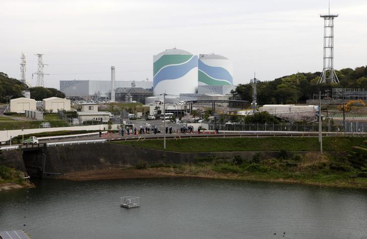 Kyushu Electric Power's Sendai nuclear power plant is seen in Satsumasendai, Kagoshima prefecture April 3, 2014. REUTERS/Mari Saito/Files