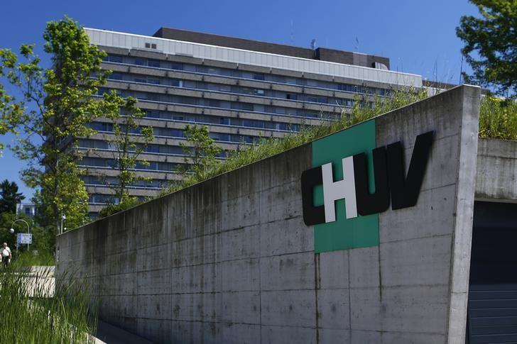 The University Hospital (CHUV) is pictured in Lausanne June 16, 2014.  REUTERS/Denis Balibouse