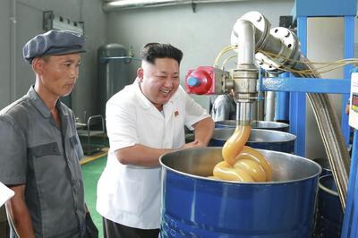 North Korea's supreme factory leader