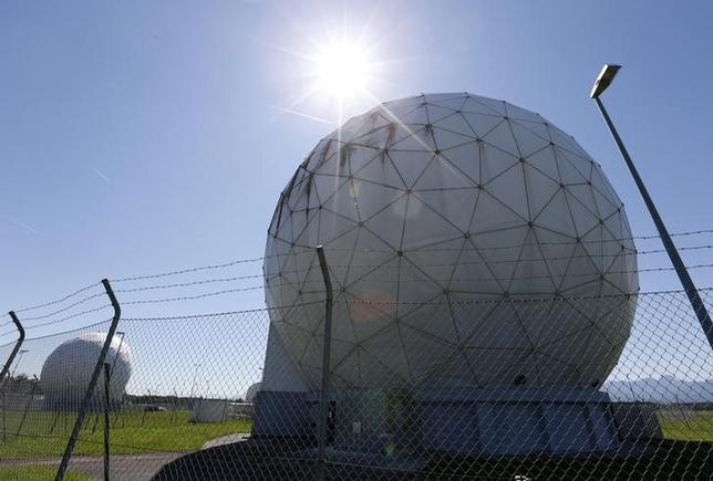 The former monitoring base of the National Security Agency (NSA), which belongs to the German Federal Intelligence Agency (BND), is seen in Bad Aibling, south of Munich, June 6, 2014.    REUTERS/Michaela Rehle
