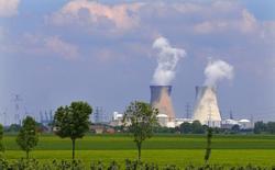 Electrabel, la filiale belge de GDF Suez annonce jeudi que le réacteur n°4 de la centrale nucléaire de Doel, mis à l'arrêt après un incident sur la turbine, ne pourrait sans doute pas redémarrer avant la fin de l'année, soit plusieurs mois plus tard que prévu jusqu'à présent. /Photo d'archives/REUTERS/Yves Herman