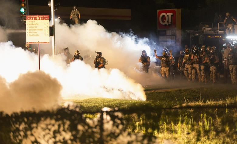 Missouri takes control of security away from Ferguson...