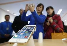 A Apple começou a armazenar os dados pessoais de alguns usuários chineses na China continental, marcando a primeira vez que a gigante de tecnologia armazena dados de usuários em território chinês. 17/01/2014 REUTERS/Kim Kyung-Hoon