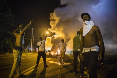 Protests in Ferguson