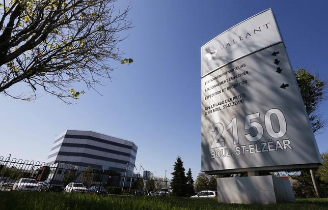 The head offices of Valeant Pharmaceuticals International Inc. are seen in Laval, Quebec in this file photo from May 20, 2014.    REUTERS/Christinne Muschi