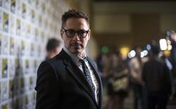 """El actor Robert Downey Jr. en una rueda de prensa sobre el filme """"Avengers: Age of Ultron"""" en la Comic-Con de San Diego, jul 26 2014. La edición número 39 del Festival Internacional de Cine de Toronto acogerá a una serie de estrellas de Hollywood cuando comience el mes próximo, con actores como Robert Downey Jr. y Al Pacino en la lista de asistentes.   REUTERS/Mario Anzuoni"""