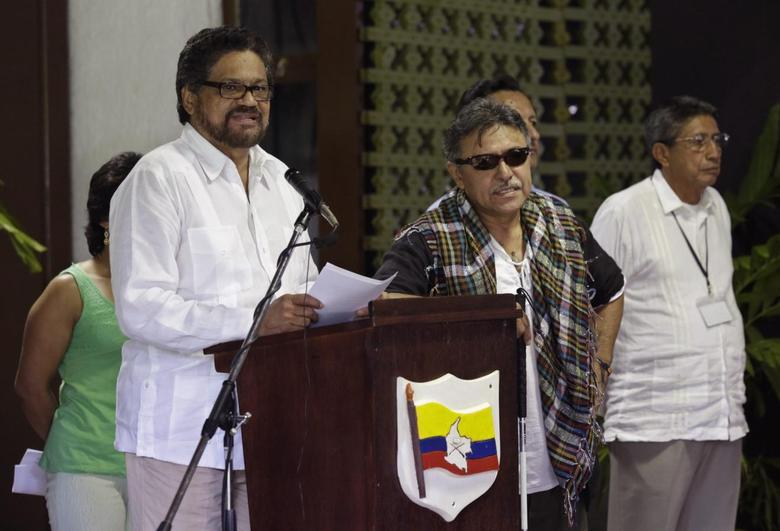 Colombia army, rebels meet face-to-face at peace talks