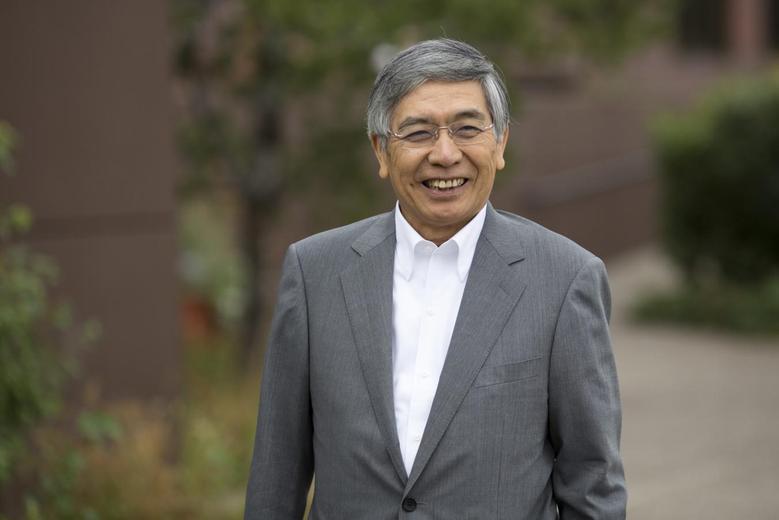 Bank of Japan Governor Haruhiko Kuroda attends the Jackson Hole Economic Policy Symposium in Jackson Hole, Wyoming August 22, 2014. REUTERS/David Stubbs