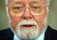 Ator e diretor britânico Richard Attenborough, que morreu no domingo. 04/09/2002 REUTERS/STR News