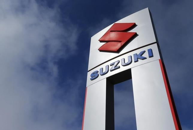 A view shows a Suzuki car dealership sign in National City, California November 6, 2012. REUTERS/Mike Blake