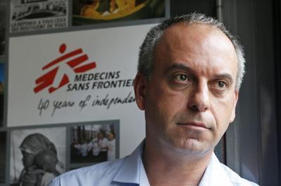 Medical charity MSF wants U.N. to take lead on Ebola...