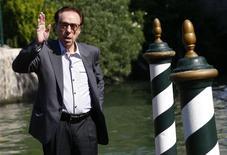 Diretor Peter Bogdanovich em Veneza. 29/8/2014 REUTERS/Tony Gentile