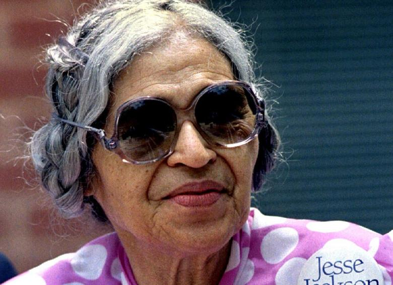 Rosa Parks in a 1988 file photo. REUTERS/File