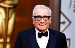 En la imagen, el director de cine, Martin Scorsese,  durante la entrega de premios Oscar en Hollywood, California, 2 de marzo 2014.  El veterano cineasta Martin Scorsese entrará en la historia del rock en su próximo proyecto, una película sobre el grupo de punk los Ramones, dijo su portavoz. REUTERS/Lucas Jackson