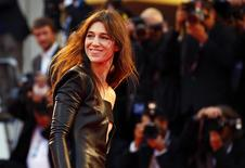 "Cast member Charlotte Gainsbourg poses during the photo call for the movie ""Nymphomaniac II"" at the 71st Venice Film Festival September 1, 2014. REUTERS/Tony Gentile"