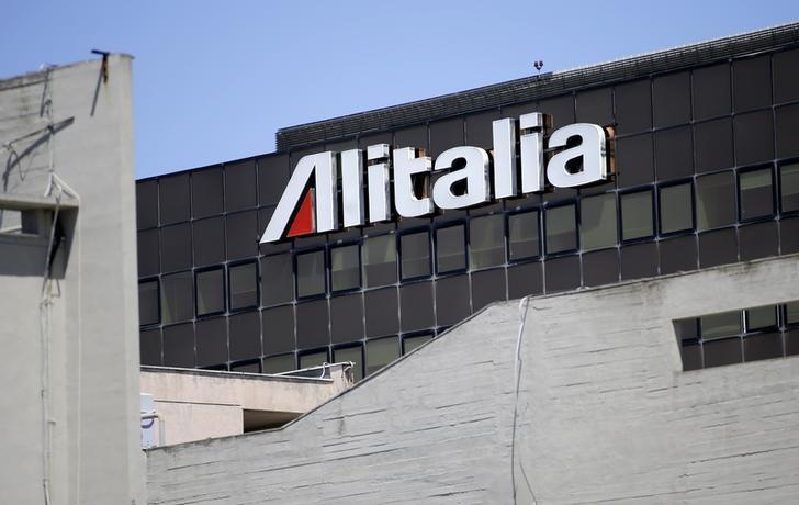 The Alitalia headquarters is seen at Fiumicino airport in Rome July 31, 2014.  REUTERS/Max Rossi