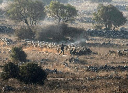 Clashes in Golan Heights