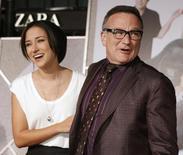 Robin Williams e sua filha Zelda chegam para lançamento de filme em 9 de novembro de 2009.    REUTERS/Fred Prouser