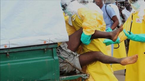 Ebola hot zones