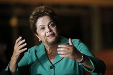 Presidente Dilma Rousseff durante entrevista em Brasília.  25/9/2014. REUTERS/Ueslei Marcelino