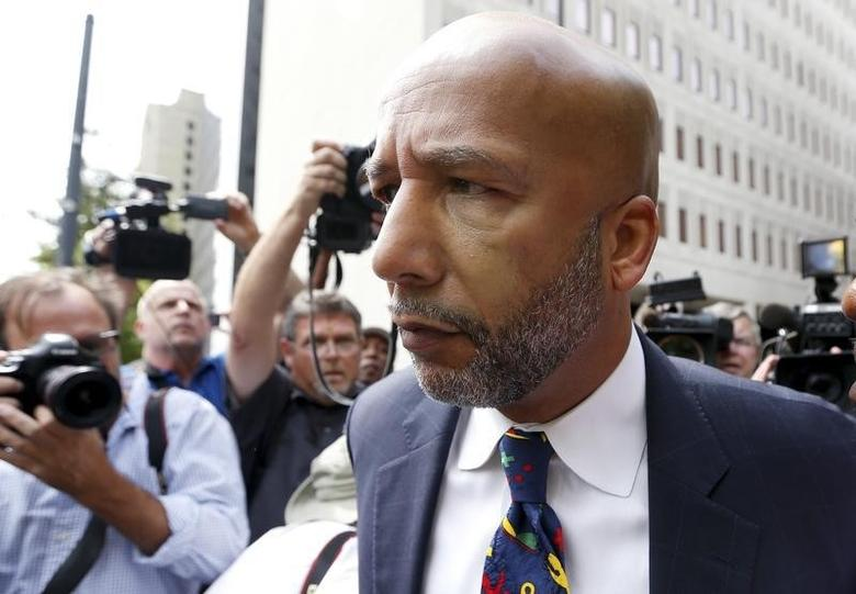 Former New Orleans Mayor C. Ray Nagin leaves court after being sentenced to 10 years in New Orleans, Louisiana July 9, 2014. REUTERS/Jonathan Bachman