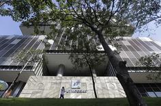 La casa matriz de Petrobras en Río de Janeiro, abr 11 2014. Un miembro de la junta de la petrolera brasileña Petrobras pidió el lunes una investigación interna por las acusaciones de corrupción dentro de la compañía de mayoría estatal, en una red en la que estarían involucrados decenas de legisladores. REUTERS/Ricardo Moraes